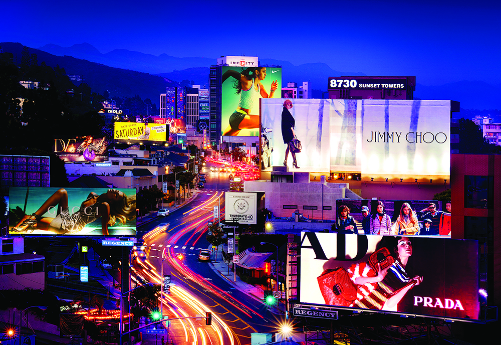 Boutiques In Chicago >> Billboard plan shows evolving Sunset Strip - Park Labrea ...