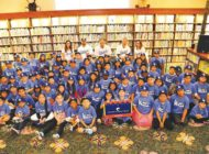 Dodgers hope to lead off a love of reading in children
