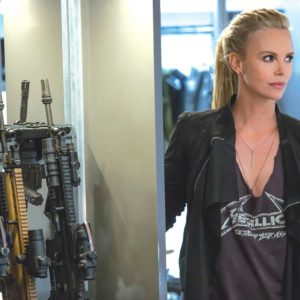 "Charlize Theron stars as Cipher in ""The Fate of the Furious.""  (photo courtesy of Universal Pictures)"