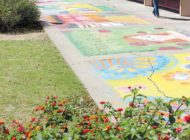 Festival infuses Fairfax High campus with chalk art