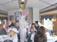 Join the Easter Bunny for a vintage train ride