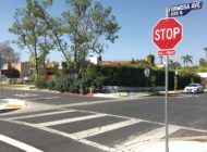 Four-way stop installed to make walking and cycling safer