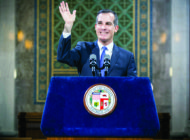 Garcetti urges earthquake preparedness