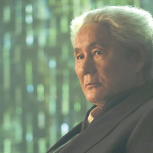 """Takeshi Kitano appears as Chief Daisuke Aramaki in """"Ghost in the Shell."""" (photo courtesy of Paramount Pictures)"""