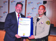 Sheriff's Deputy earns commendation  from West Hollywood City Council