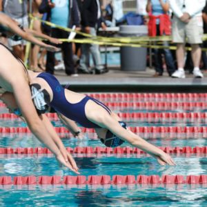 Swimmers aged 6-18 years old can join the BLAST Sharks competitive swim team at West Hollywood Pool and at Marlborough School. (photo couresy of Peter Lambert)