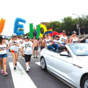 The city of West Hollywood is expected to pay more than $1 million for Pride this year. The extra costs go to increased security for the Resist March on June 11.  (photo courtesy of the city of West Hollywood)