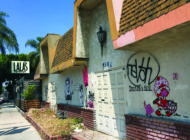 Melrose Avenue draws line between art and graffiti