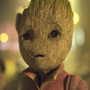 Baby Groot is voiced by Vin Diesel. (photo courtesy of Disney)
