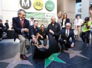 New Metro Bike Hub opens at Hollywood & Vine station