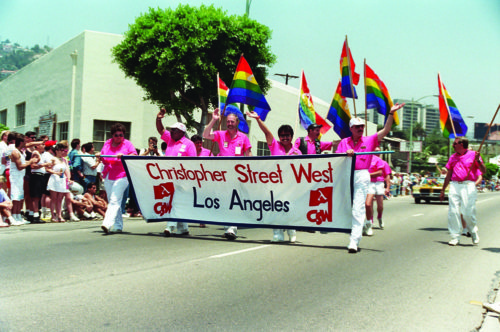 Los Angeles has seen different iterations of the Pride Parade during the past four decades. This year, instead of a parade, it will be a protest march against oppression. (photo by Alan Light)