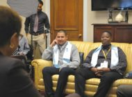 Congress members help foster youth on annual 'shadow' day