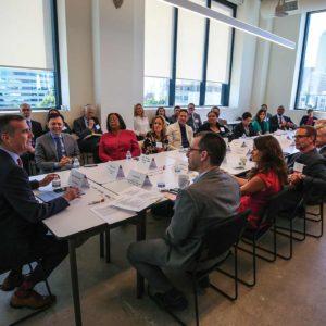 Mayor Garcetti kicked off a program designed to bolster the city's tech economy. (photo courtesy of the mayor's office)