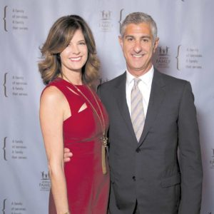 Renee and Paul Haas received the JFS Spirit of Humanity Award. (photo courtesy of JFS)