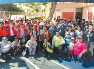 Volunteers beautify Grant Early Education Center campus