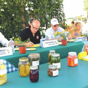 Judges made their decisions during last year's event. (photo courtesy of the city of Beverly Hills)