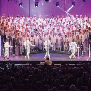 The Gay Men's Chorus of Los Angeles will kick off the center's Pride Month celebration. (photo courtesy of the Wallis Annenberg Center for the Performing Arts)