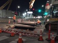 Subway construction rolls ahead along Wilshire