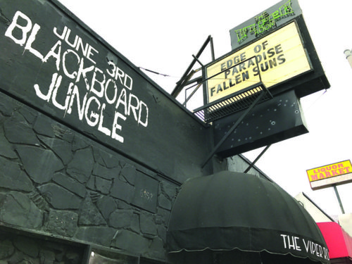 Based on its relatively brief history, the Viper Room could be reevaluated in the future for historic designation. (photo by Luke Harold)