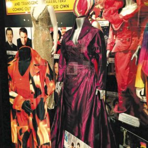 """Costumes from the film """"To Wong Foo, Thanks for Everything! Julie Newmar"""" are part of the Reel to Real exhibit. (photo courtesy of Harlan Boll)"""