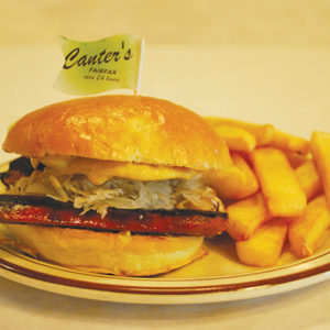 Canter's.hotdog