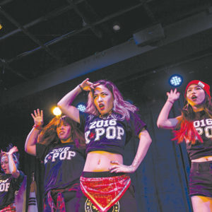 Singers and dancers are sought for the K-POP Dance & Vocal Academy. (photo curtesy of KCCLA)