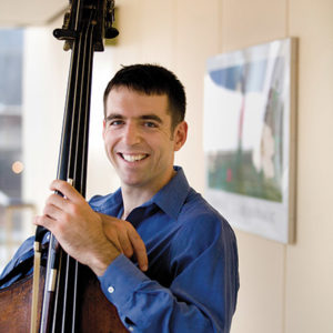 David Grossman is LACO's new principal bass. (photo by Henry Grossman)