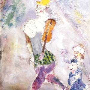 Numerous works by Chagall are included in the new exhibit opening at the end of July at LACMA. (photo © 2017 Artists Rights Society (ARS), New York/ADAGP, Paris)