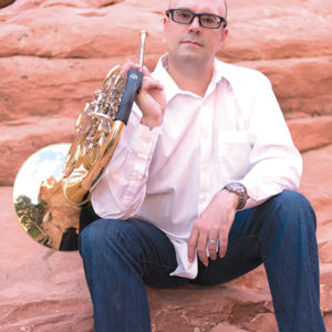 The orchestra welcomed Michael Thornton as principal horn. (photo courtesy of Michael Thornton)