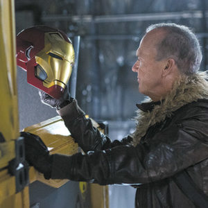 "Michael Keaton's portrayal of the villain in ""Spider-Man: Homecoming"" is a ""breath of fresh air."" (photo courtesy of Sony Pictures)"