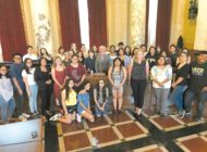 Councilman welcomes youth from leadership program