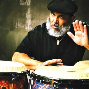 Poncho Sanchez will perform at the John Hanson Ford Theater to help support the arts in Los Angeles. (photo courtesy of MIPR)