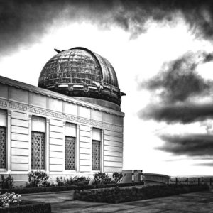 This 20-by-24-inch print of the Griffith Observatory will be among the works on display. (photo courtesy of the Couturier Gallery)