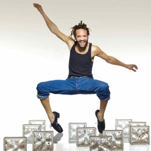 Savion Glover, Tony Award-winning, tap dancer, choreographer and producer, will be the inaugural performer at the newly renovated Ford Theatres. (photo courtesy of Ford Theatres)