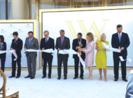Waldorf Astoria holds ceremonial ribbon cutting