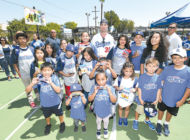 Bellinger delivers surprise hit  to kids in Koreatown