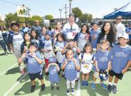 Bellinger delivers surprise hit  to kids in Koreatown