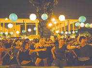 Show off your disco moves at Grand Park