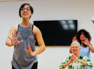 Weekly movement class, 'Dancing Through Parkinson's,' to start again