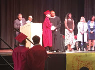 LAUSD students receive diplomas at Fairfax High