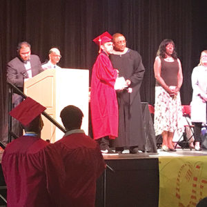 Approximately forty students completed their high school education and received diplomas last Thursday, Aug. 10. (photo by Luke Harold)