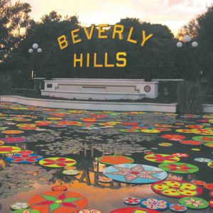 Events started with an art installation that Mayor Lili Bosse and local residents helped complete. (photo courtesy of the city of Beverly Hills)