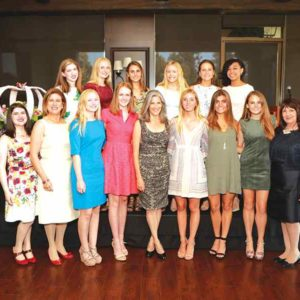 (photo courtesy of Coronet Debutante Luncheon chairwoman, her two daughters, the 2017 Coronet Debutante's, and CDBB Director)