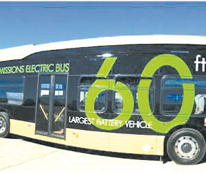 The purchase included 35, 60-foot articulated buses similar to the one pictured above. (photo courtesy of Metro)