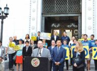 Koretz, Ryu support state's 100 percent renewable energy bill