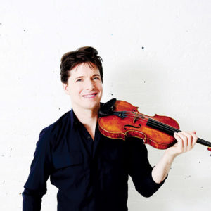 Internationally acclaimed violinist Joshua Bell kicks off the season. (photo by Sherwin Lainez)