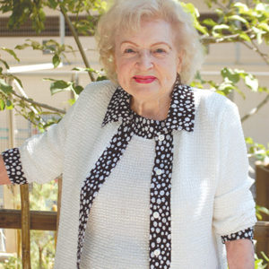 "Betty White will receive an award at ""Paley Honors in Hollywood: A Gala Celebrating Women."" (photo by Edwin Folven)"