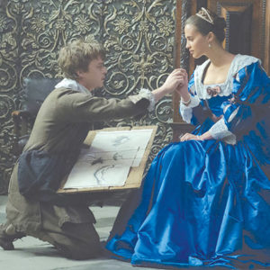 """Dane DeHaan and Alicia Vikander star in """"Tulip Fever.""""(photo by Alex Bailey, courtesy of The Weinstein Company)"""