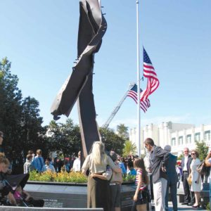 The city of Beverly Hills remembered 9/11 on its 10th anniversary in 2011. (photo by Aaron Blevins)