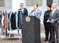 Give clothing for LGBTQ homeless youth